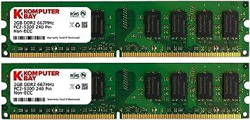 1GB DDR2 PC2-5300 DESKTOP Memory Module 240-pin DIMM, 667MHz