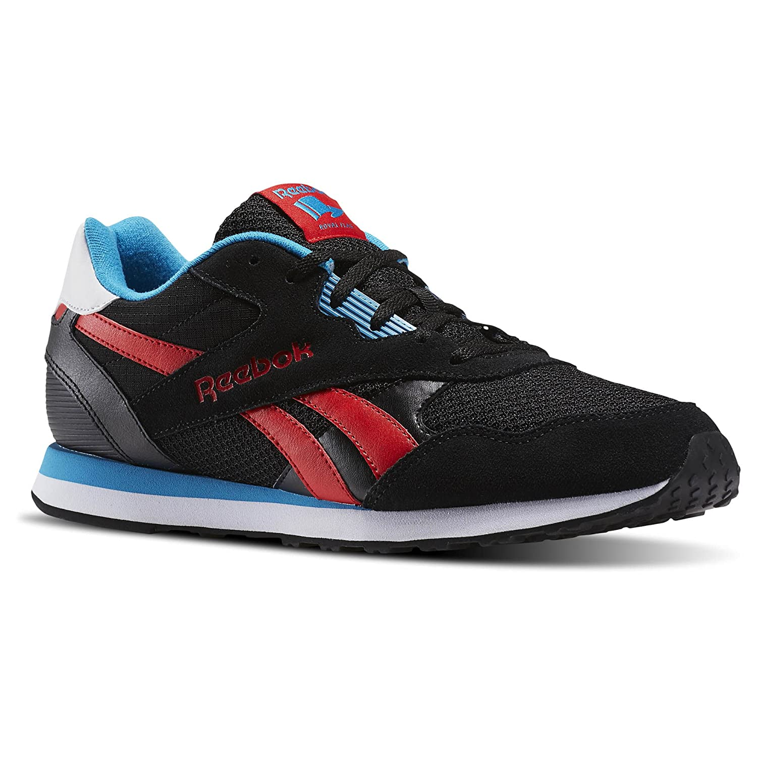 Reebok Royal Tempo Running Men's Shoes B01MQYVZUT 7.5 D(M) US|Black/Red/Teal/White