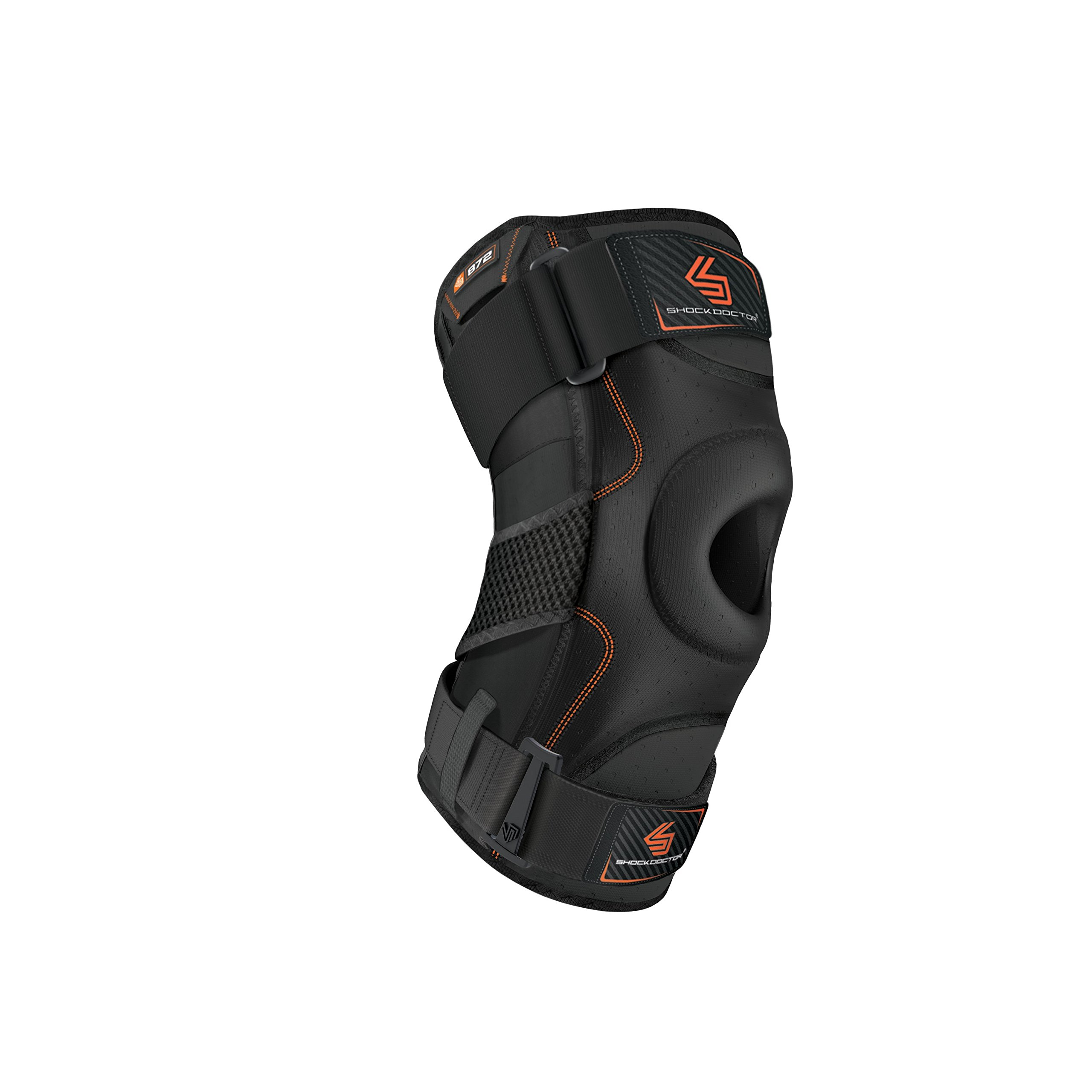 Shock Doctor Knee Support with Dual Hinges (Black, XX-Large) by Shock Doctor