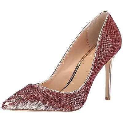 Jewel Badgley Mischka Women's JADE Shoe, rose gold, M085 M US | Pumps