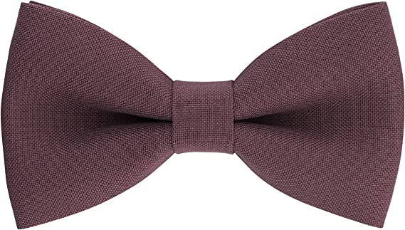 Classic Pre-Tied Bow Tie Formal Solid Tuxedo for Adults & Children