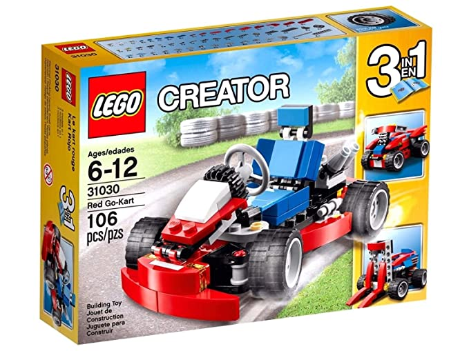 Amazon.com: LEGO Creator_31030_Red Go-Kart 3 in 1_106 pcs/pzs_Brand New Sealed Set /ITEM#G839GJ UY-W8EHF3145494: Toys & Games