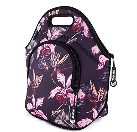 Neoprene Fox Lunch Bags for Women Insulated Lunch Box for School Work Picnic Bag