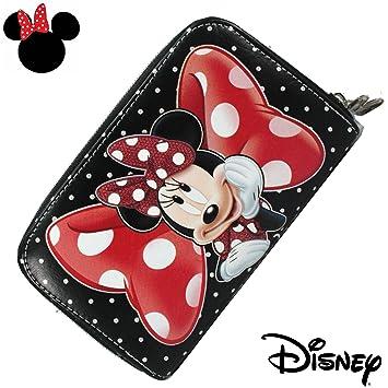 Minnie Billetero Monedero Cartera para Mujer para Niña 100% Original Disney: Amazon.es: Electrónica