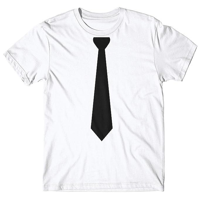 alta qualità sito ufficiale vestibilità classica LaMAGLIERIA T-Shirt Uomo Necktie MOD - t-Shirt 100% Cotone: Amazon ...