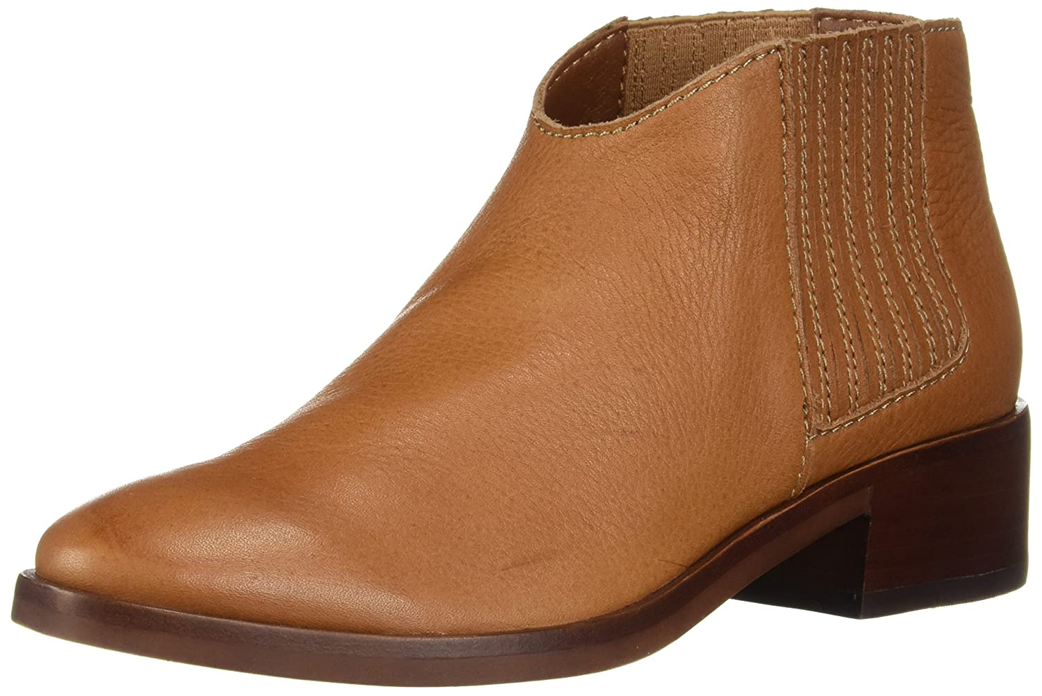 Dolce Vita Women's Towne Ankle Boot B07C9HDDH2 9 B(M) US|Brown Leather