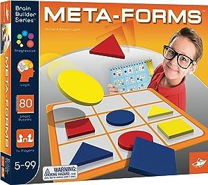 Foxmind, Meta-forms Brain Builder Series, Puzzle-Solving Brain Builder Game