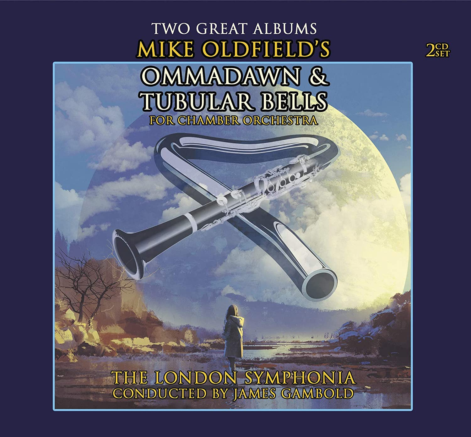 MIKE OLDFIELD'S OMMADAWN AND TUBULAR BELLS: DOUBLE CD