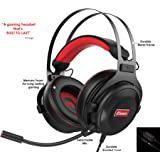 Gaming Headset with Microphone   Premium 3D HD Stereo Sound Video Gaming Wired Headphones for PS4 Console, Xbox One, Switch, PC, Laptop   3.5mm Audio   Playstation 4 Accessories by HC Gamer Life