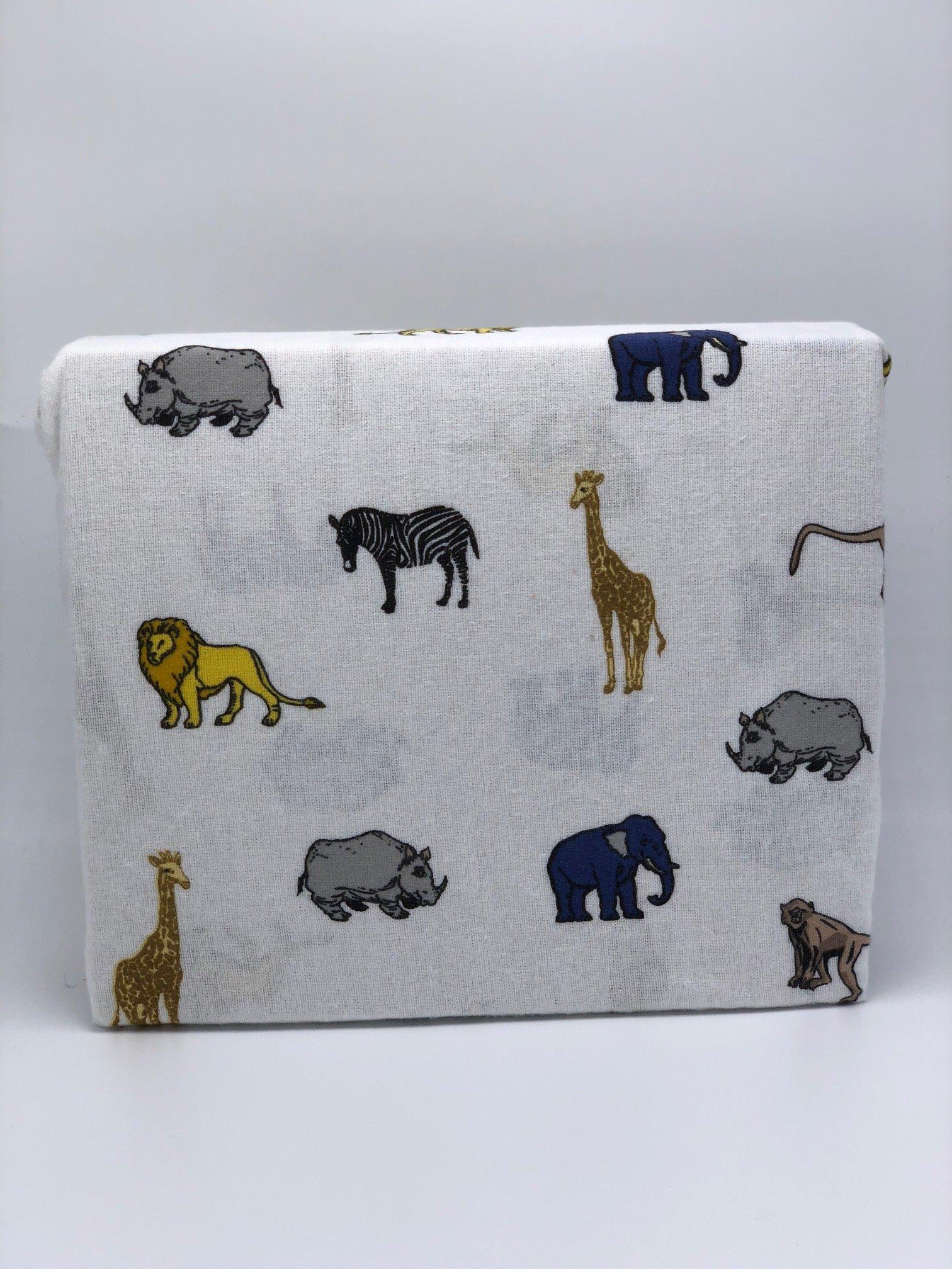 GT Animal Print,Safari Heavyweight Flannel Fitted Sheet