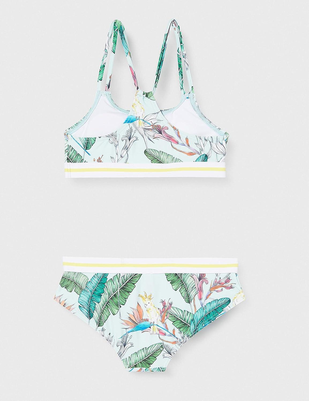 Esprit Lilian Beach Yg Bustier+Hipster Short Ensemble de Bikini Fille