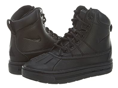 best service 23929 fde2d NIKE WOODSIDE (PS) LITTLE KIDS 415079-001 (1.5, BLACK BLACK