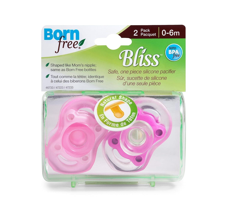 Amazon.com: Born Free, sin BPA) Bliss forma natural rosa ...