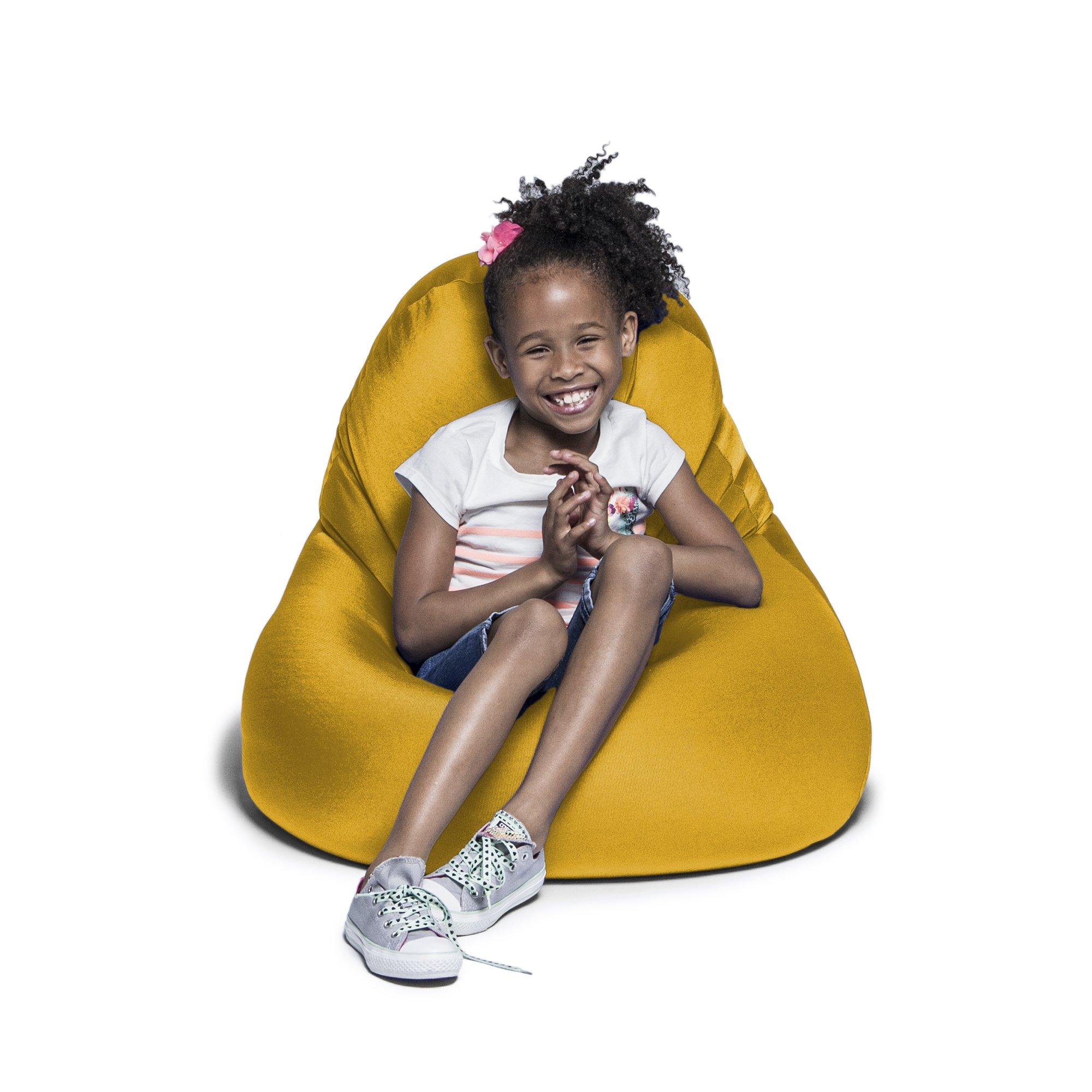 Jaxx Nimbus Spandex Bean Bag Chair for Kids, Gold