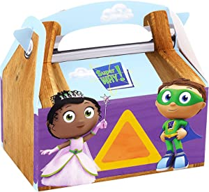 BirthdayExpress Super Why Party Supplies - Empty Favor Boxes (4)