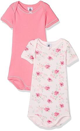 03ee8ff4afc2c Petit Bateau Body Bébé Fille (Lot de 2)  Amazon.fr  Vêtements et accessoires