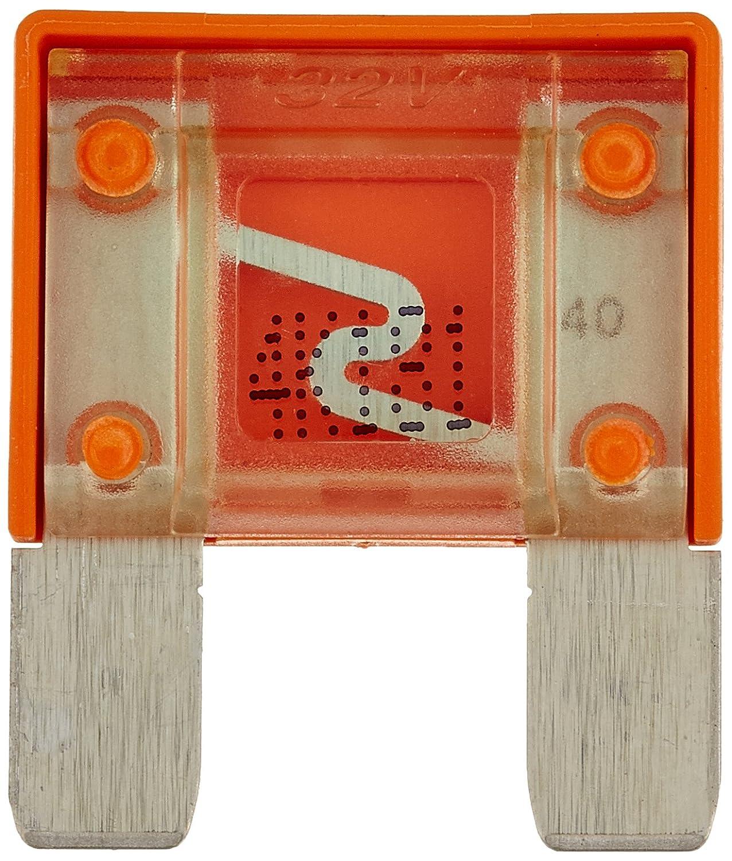 Aerzetix –  SK2 ° c10065 grande Maxi fusibile 40 A 32 V 6 V 12 V 24 V auto camion Utility, 29 mm, colore: arancione 29mm Aerzetiks Eood SK2C10065