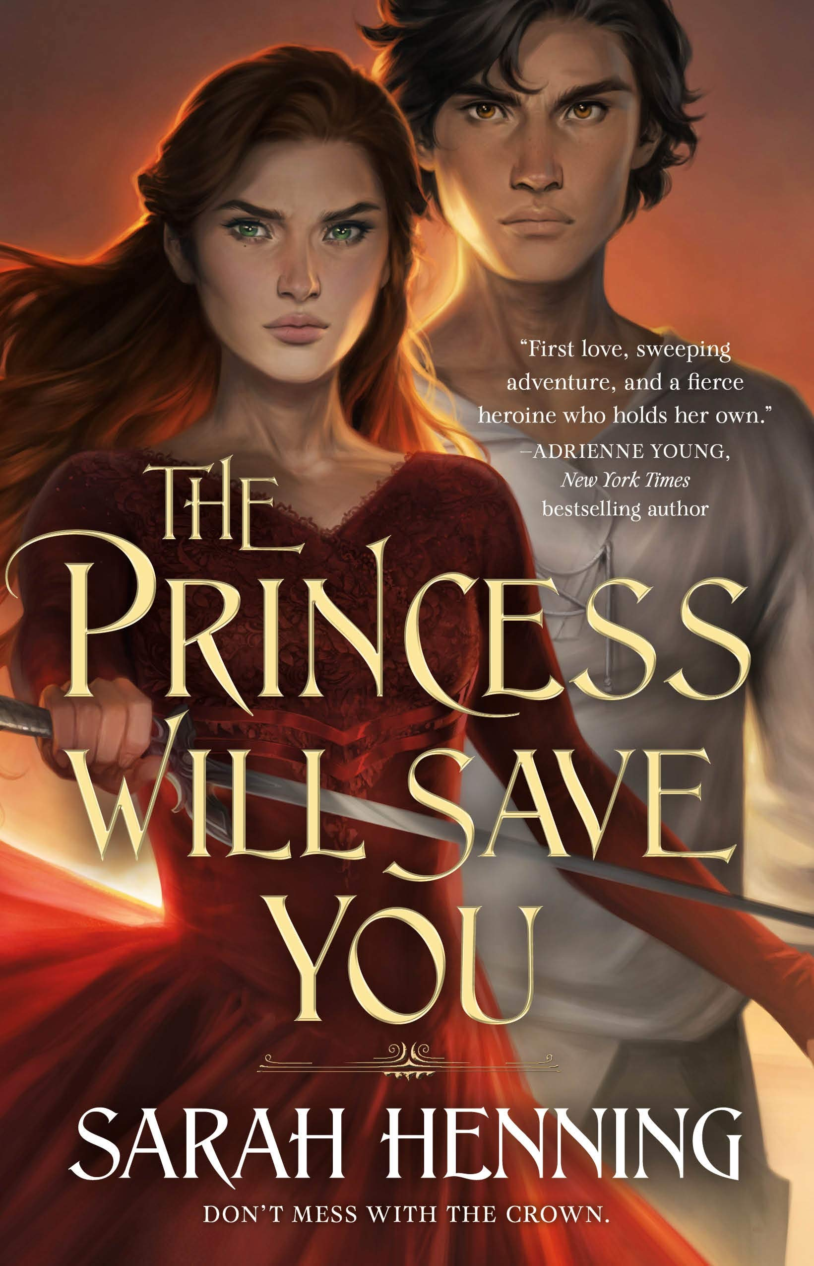 Amazon.com: The Princess Will Save You (Kingdoms of Sand and Sky, 1)  (9781250237422): Henning, Sarah: Books