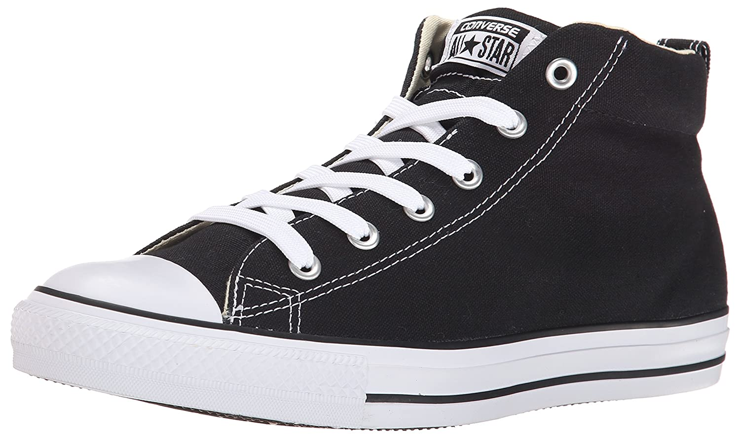 Converse Men's Street Canvas Mid Top Sneaker by Converse