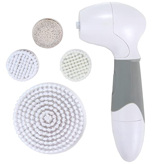 Essential Skin Solutions Skin Brushing System Facial and Body Electric Cleansing Brush