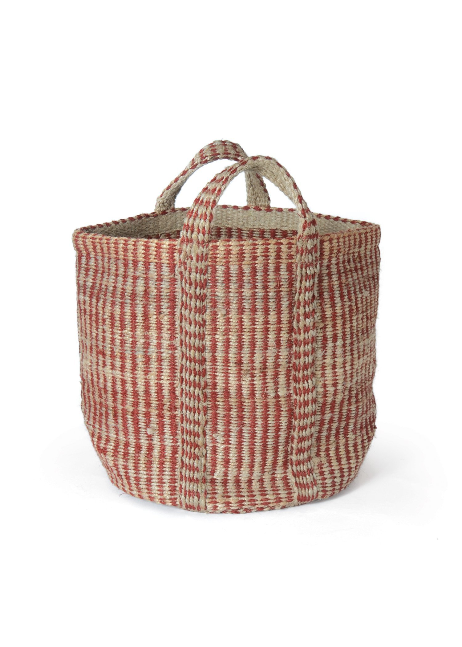 Red Hemp Basket/Bag