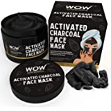 WOW Activated Charcoal Face Mask - No Parabens & Mineral Oils