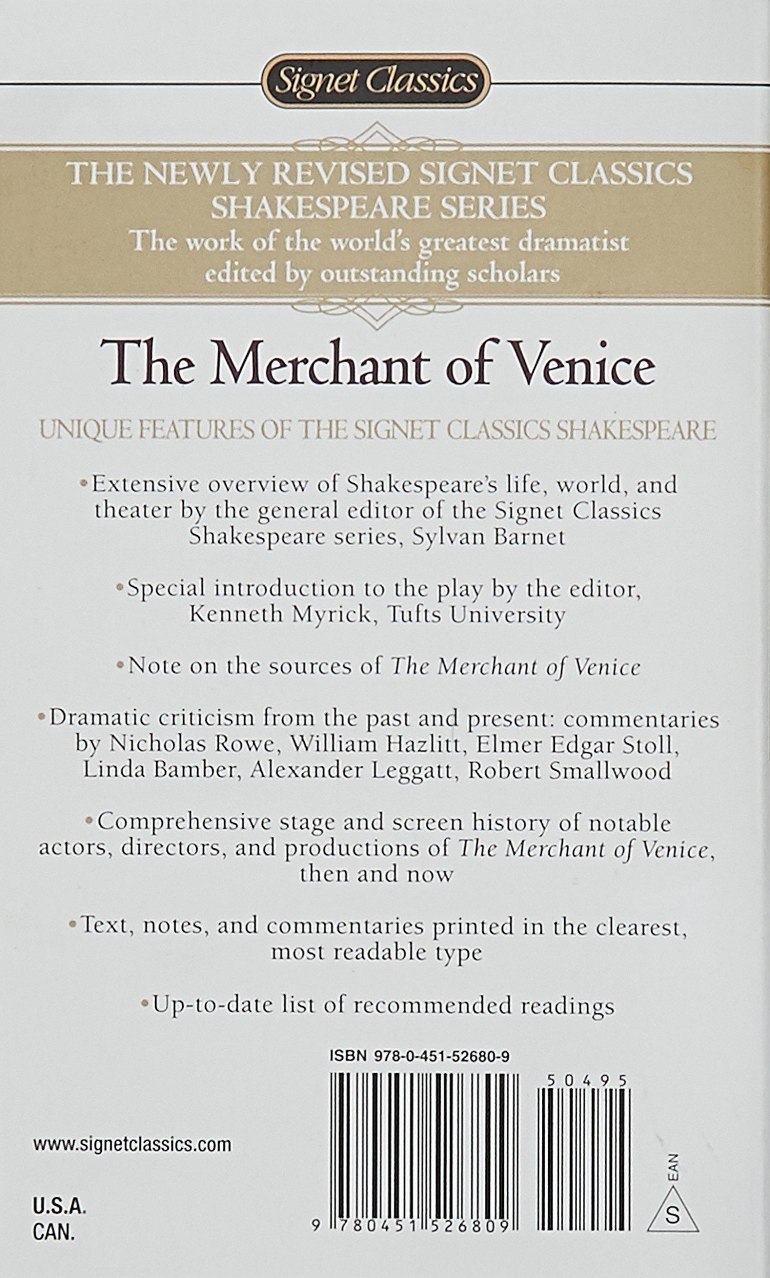 merchant of venice criticism