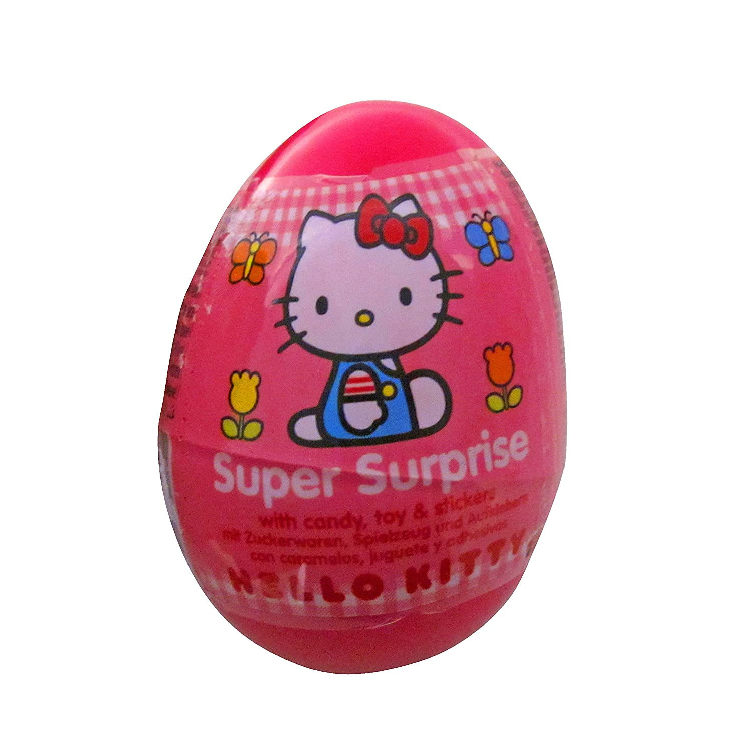 Amazoncom One Hello Kitty Plastic Surprise Egg With Toy Inside