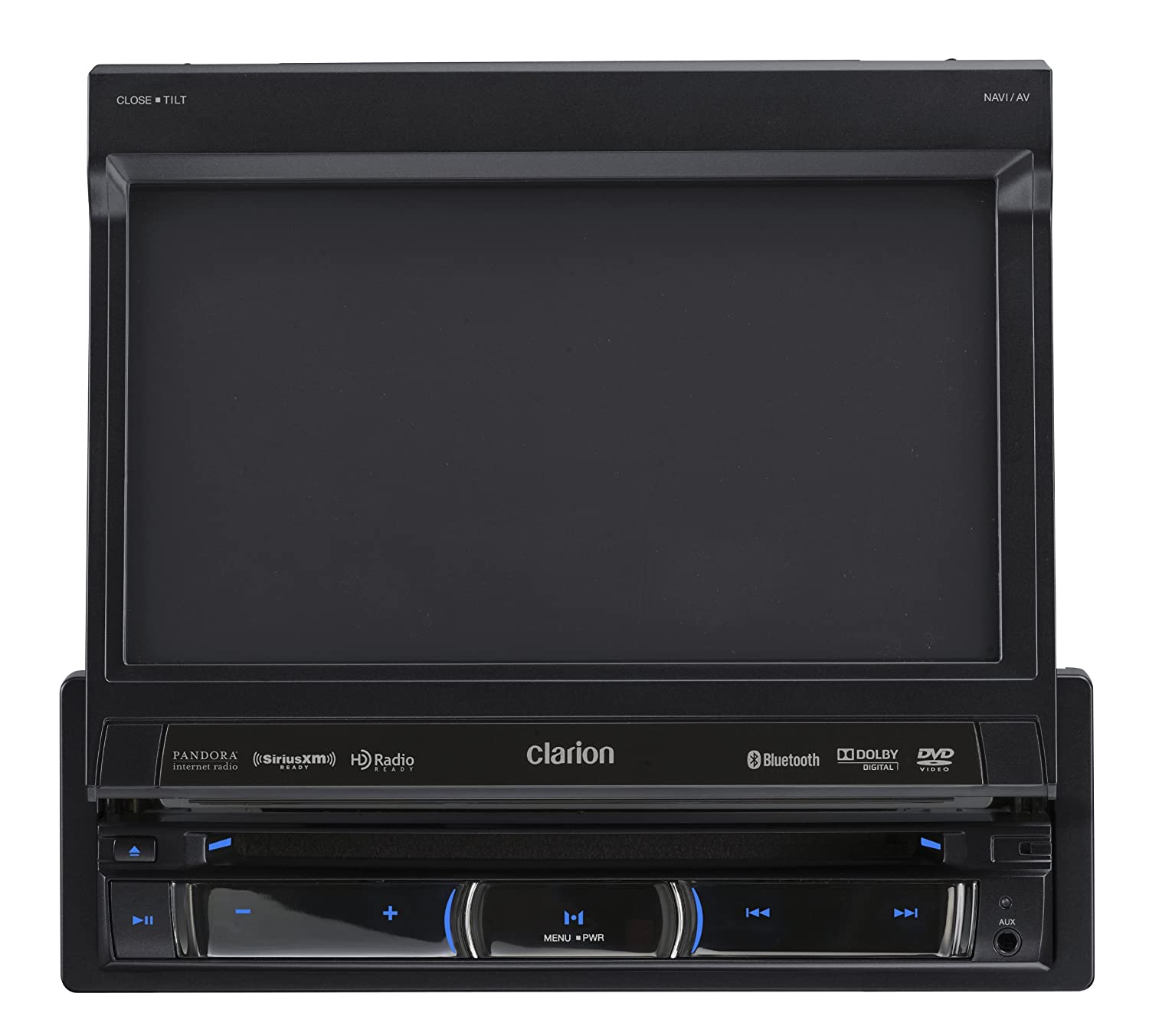 Amazon.com: Clarion NZ503 DVD Multimedia Receiver with Built-In Navigation  and Single DIN Motorized 7-Inch High Resolution Touch Panel Control: Car ...