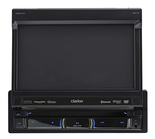 Clarion NZ503 DVD Multimedia Receiver With Built-In Navigation And Single DIN