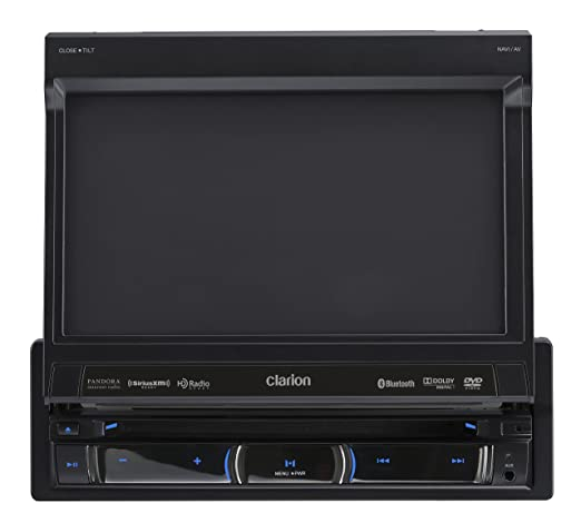 81ZMnqCLW8L._SX522_ clarion 7 inch flipout navigation bluetooth amazon ca cell clarion max685bt wiring diagram at fashall.co