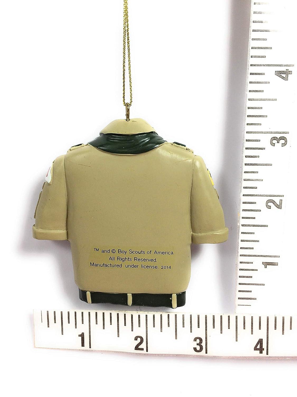 Kurt Adler Boy Scout Tan Shirt Christmas Ornament PartialUpdate