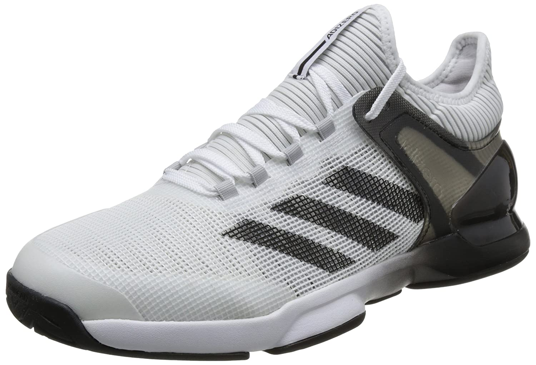 [アディダス] テニスシューズ Adizero Ubersonic 2 AC B073RJ4218 25.5 cm ナイトネイビー/エクリュティント S18/トレーススカーレット S18