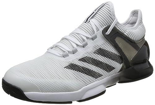 quality design 7f21a 91e77 adidas Adizero Ubersonic 2, Scarpe da Tennis Uomo, Bianco  FtwwhtCblackGretwo, 39 13 EU Amazon.it Scarpe e borse