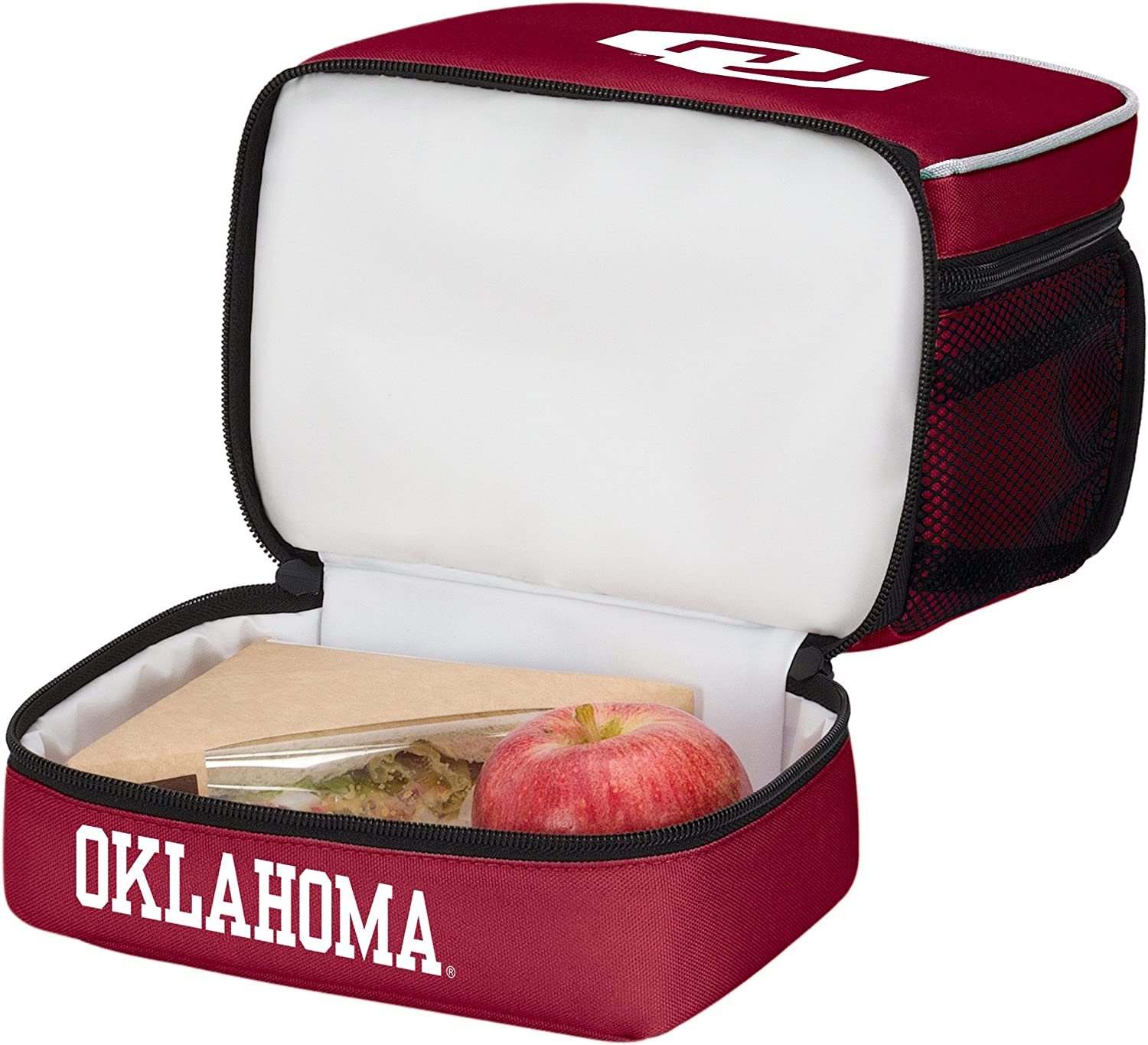Officially Licensed NCAA Spark Lunch Kit Bag Multi Color 9 x 4.5 x 7.25