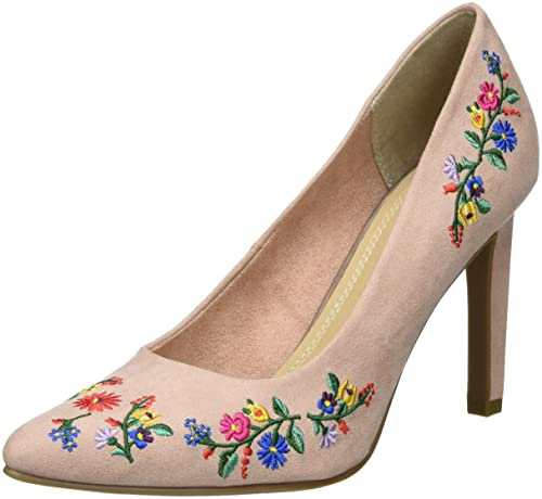 Marco Tozzi 22455, Zapatos de Tacón para Mujer, Rosa (Rose Comb 596), 38 EU