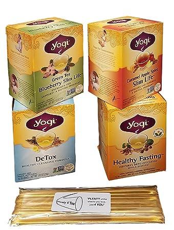 Amazon Com Yogi Tea Detox And Weight Management Variety Bundle