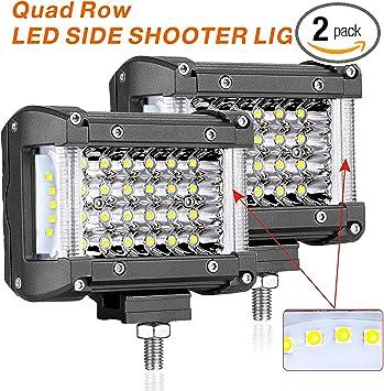 "10pcs 4/"" 40W CREE LED Work Light Bar Pods SPOT Beam Cube Offroad SUV ATV UTE 4WD"