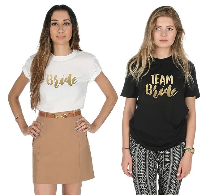 Camisetas para la novia y sus amigas