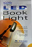 Mighty Bright Telescoping Triple LED Deluxe Book Light Kit - Silver