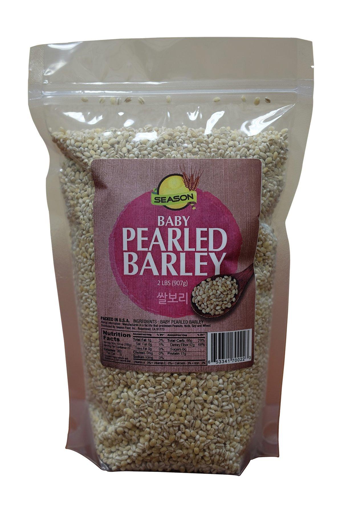 Season Baby Pearled Barley, 2-Pound