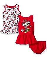 Disney Baby Girls' Minnie Mouse 2 Pack Sundress Set