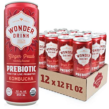 Wonder Drink Prebiotic Kombucha