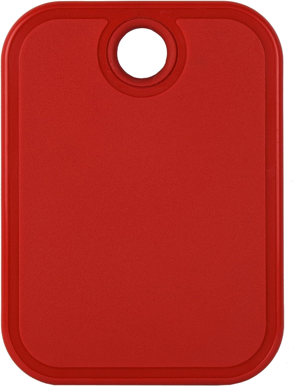 """Architec Original Non-Slip Gripper Cutting Board, 5"""" x 7"""", Red"""