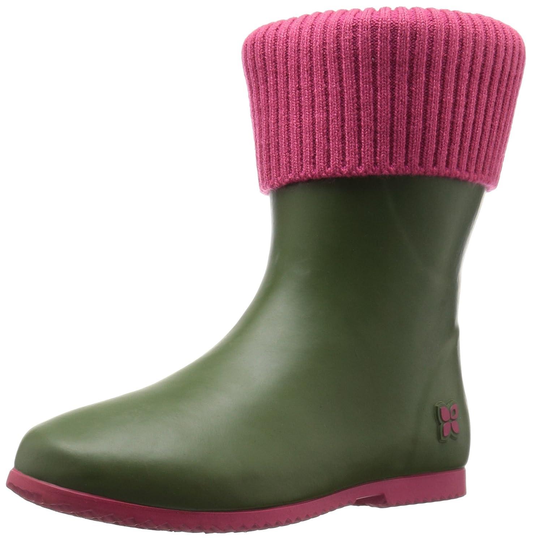 Butterfly Twists Women's Eton Rain Shoe B01J3VGQUE 40 EU/9-40 M US|Olive/Pink