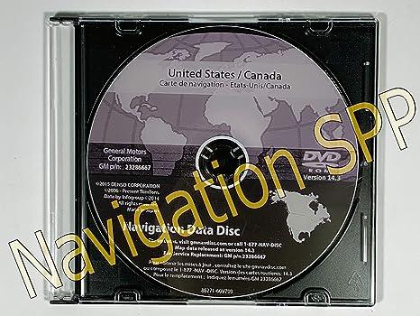 Amazon.com: 2016 GM North America Navigation DVD Map Update GM p/n on