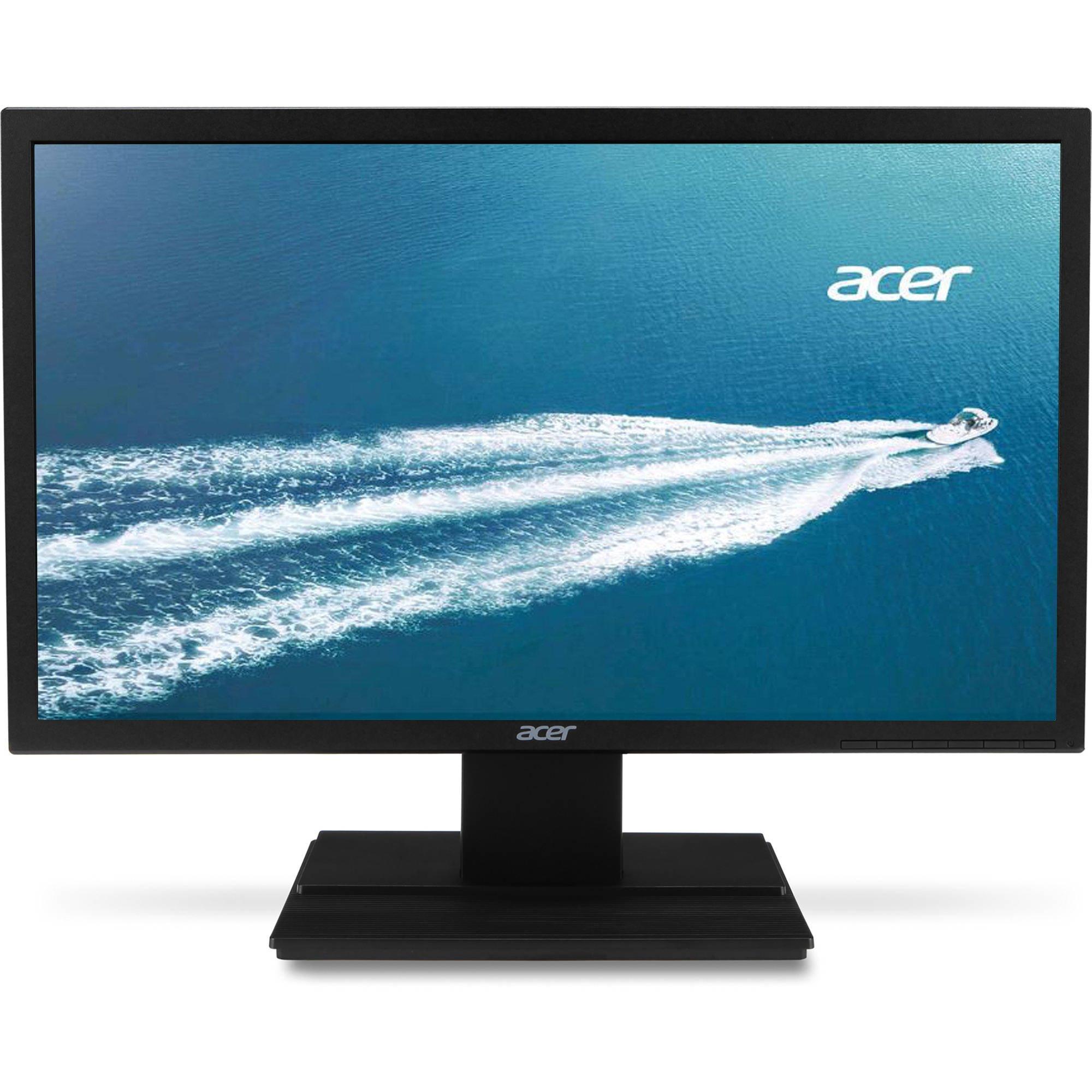 Acer Display 24'' Full HD, Anti-glare , TN Film, 1920 x 1080 , 60 Hz |V246HLBD (Certified Refurbished)