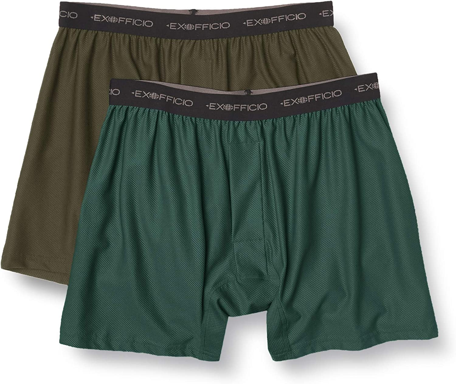 ExOfficio Men's Give-n-go Boxer 2 Pack