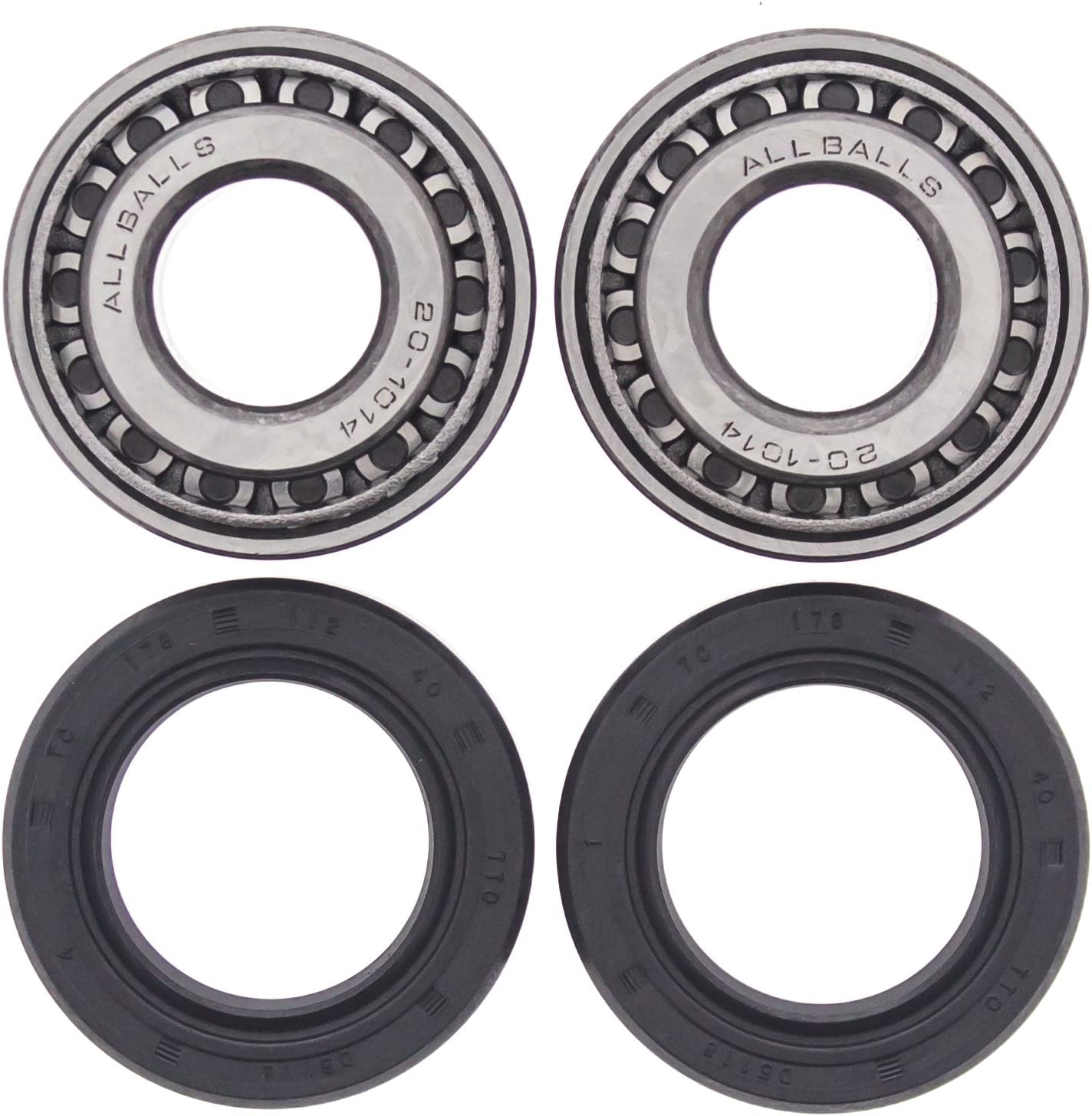 Front Wheel Bearings Seals Kit Harley Electra Glide Ultra Classic 1998 1999