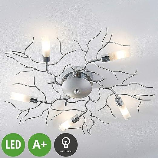 LED Lámpara de techo Felicity (Moderno) en Plateado hecho ...
